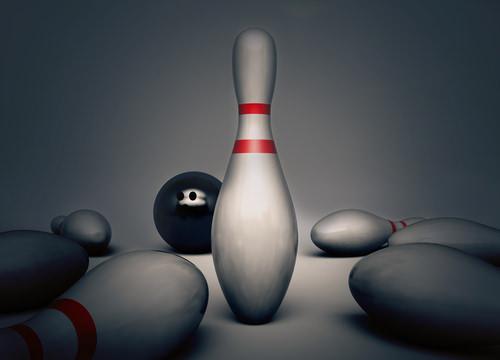 Bowling-Resilienz-Stehauf