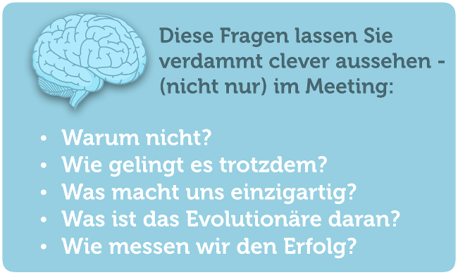 Clever-aussehen-Meeting