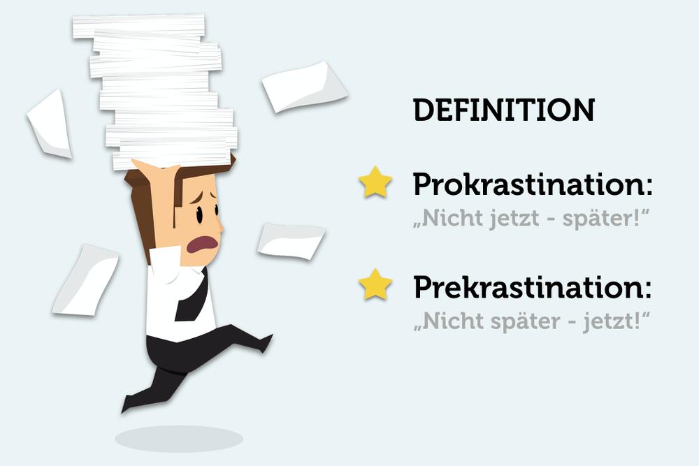 Definition-Prokrastination-Precrastination