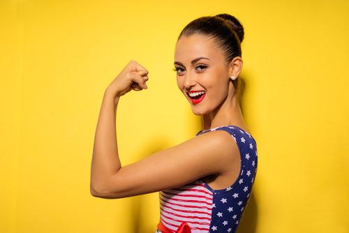 Geistig-unabhängig-starke-Frau