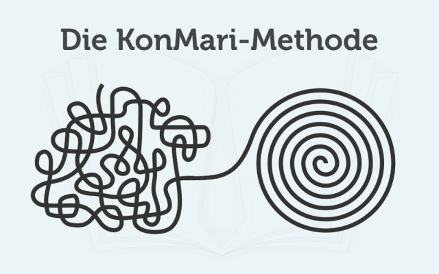 KonMari Methode aufraeumen Ordnung Leben