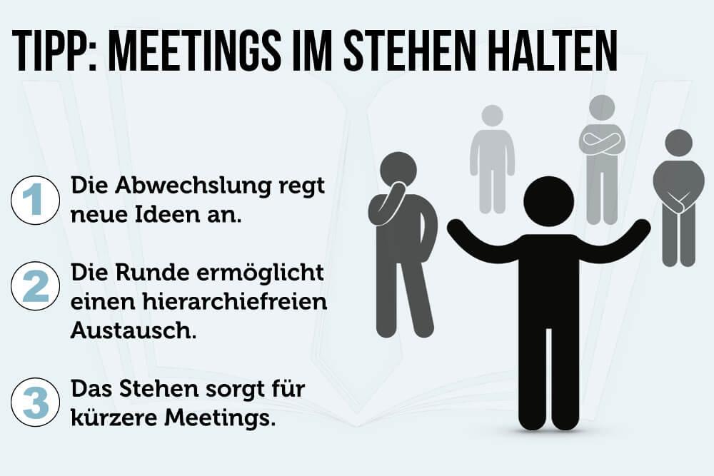 Meeting Tipp Konferenz Im Stehen Grafik