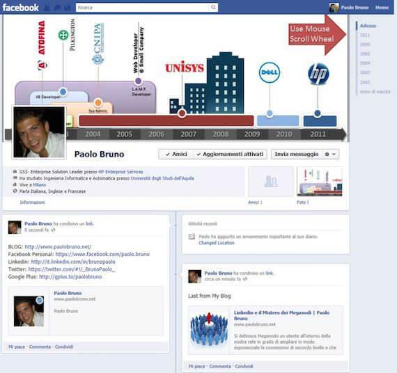 Online Lebenslauf Facebook Bewerbung