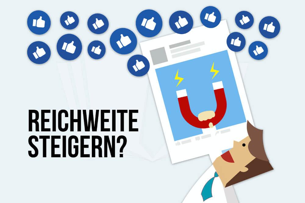 Reichweite steigern Tricks Blog Aufmerksamkeit Traffic Magnet Facebook