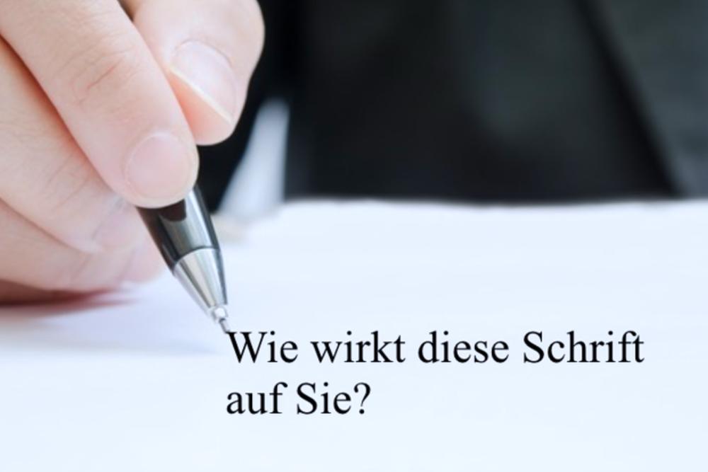bewerbung schriftart schriftgre und typen tipps - Bewerbung Schriftart Und Grose