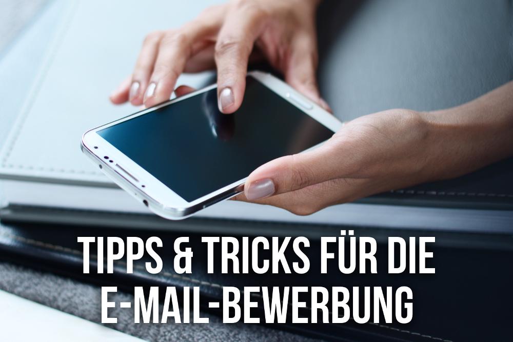 Anschreiben E Mail Bewerbung Tipps Beispiele Karrierebibelde