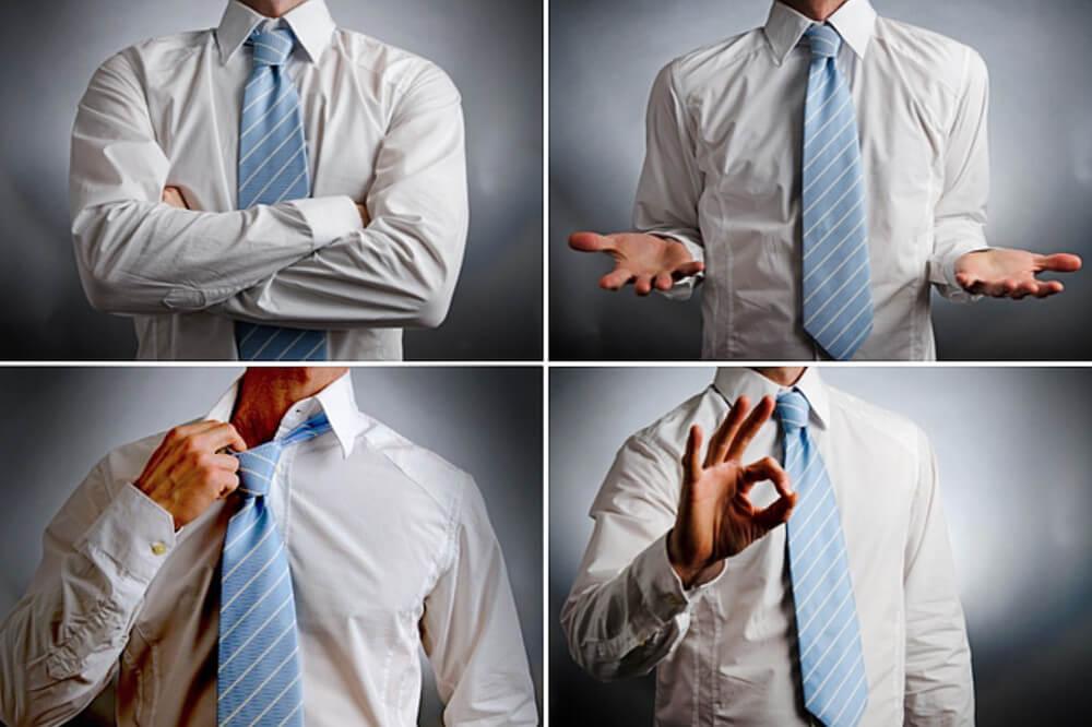 Körpersprache Auf Den Mund Schauen