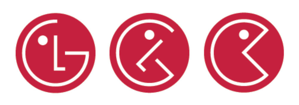 Lg Logo Cannot Unsee Effekt