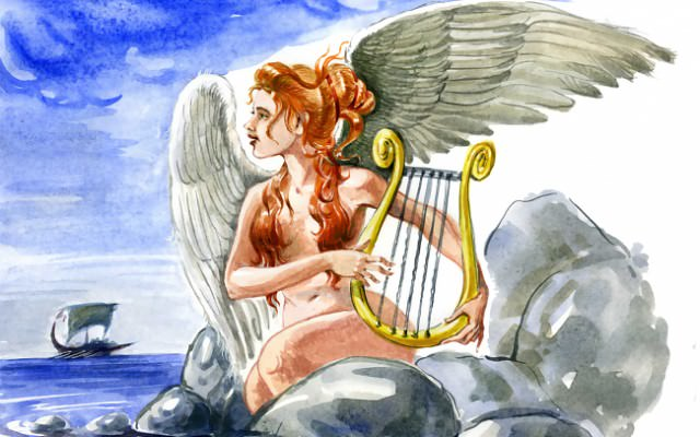 Odysseus-Sirene-Verfuehrung