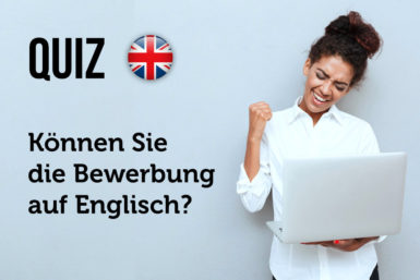 Quiz: Können Sie sich auf Englisch bewerben?