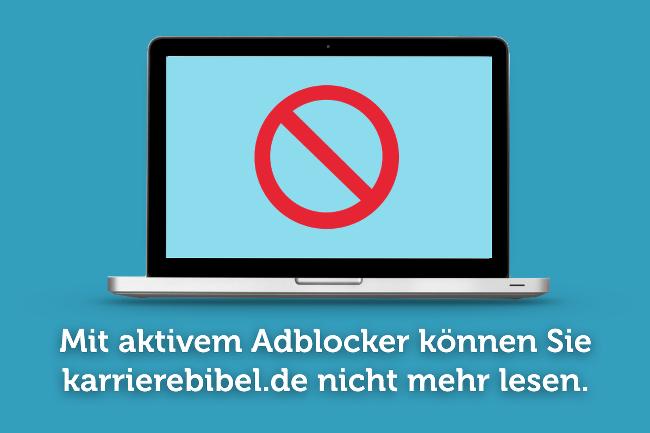Bitte Adblocker deaktivieren