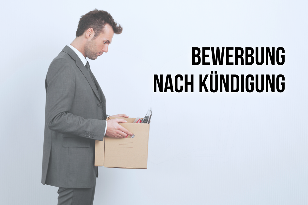 Bewerbung nach Kündigung? Tipps und Muster