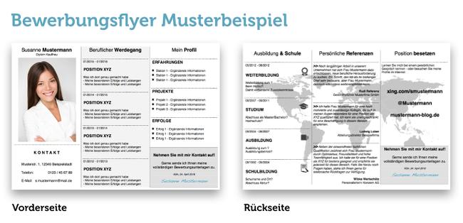 Bewerbungsflyer: Kandidatenkick für Jobmessen | karrierebibel.de