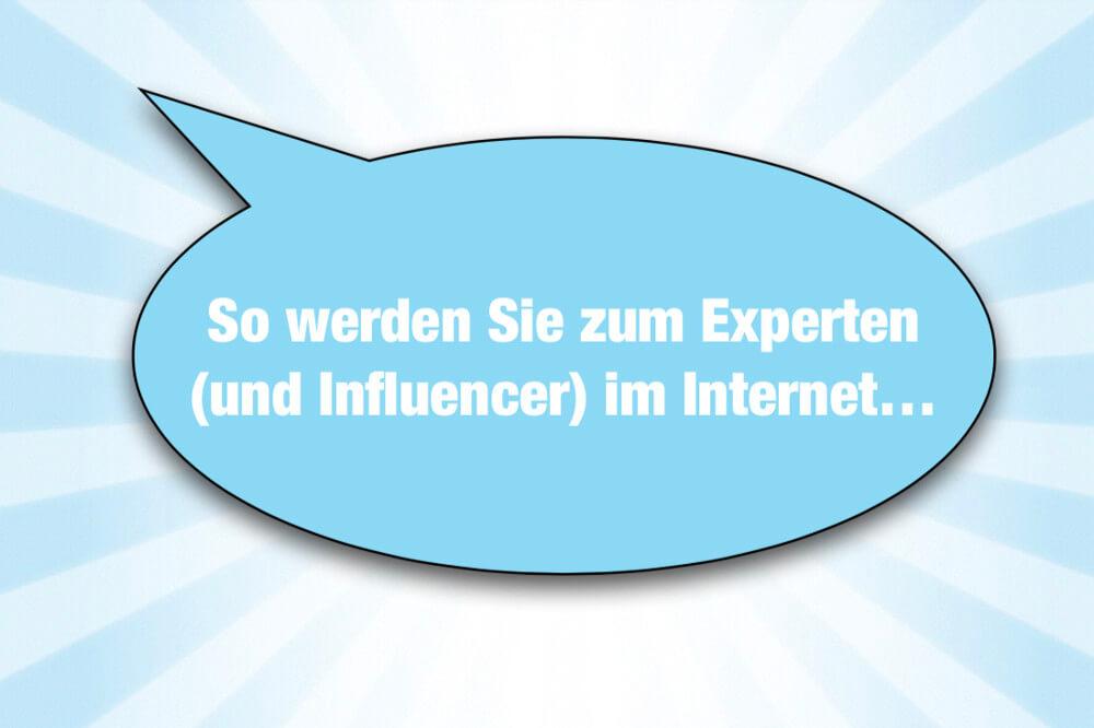 Experte Werden Internet Online Reputation Cover