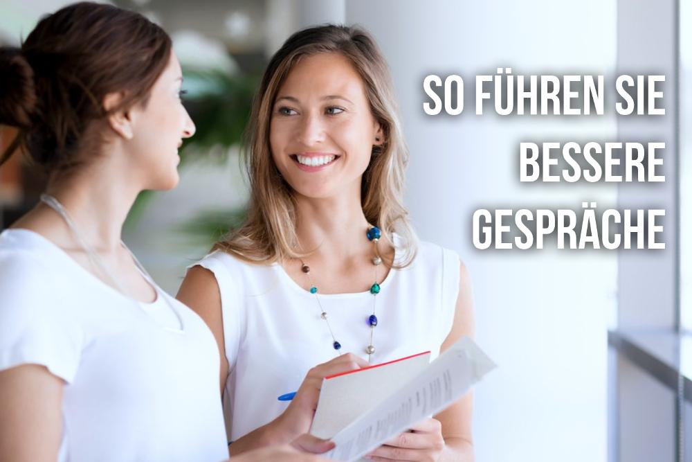 Konversationssicher Gespraech Smalltalk Konversation fuehren