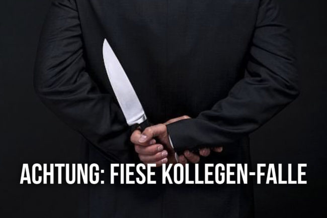 Subtext im Meeting: Achtung, fiese Kollegen-Falle!