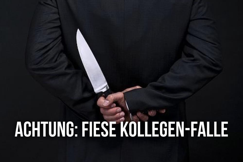 Meeting Subtext Falle Kollegen Sprueche