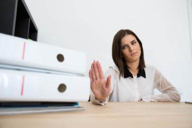 5 Dinge, die Sie im Job nicht akzeptieren sollten