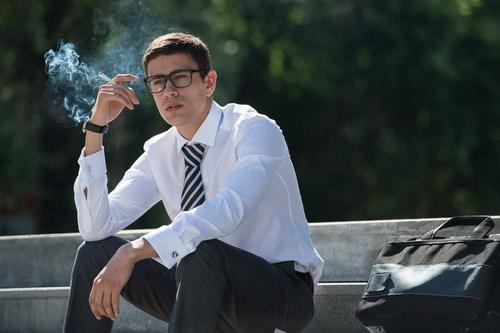 Hören Sie mit dem Rauchen auf