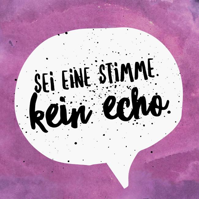 Stimme-Echo