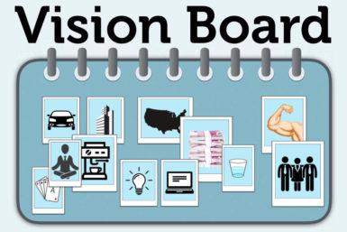 Vision Board erstellen: Anleitung für die Zielcollage