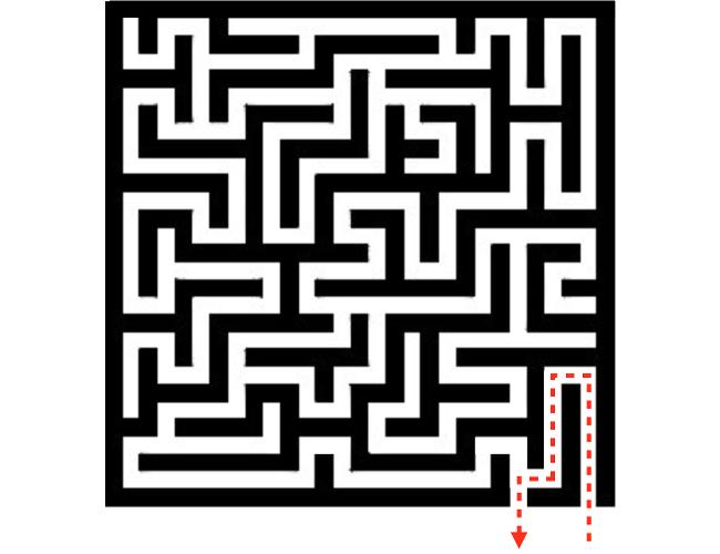 Labyrinth-Leicht