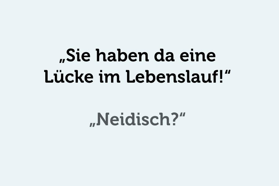 Lücken im Lebenslauf: 8 Tricks dagegen | karrierebibel.de