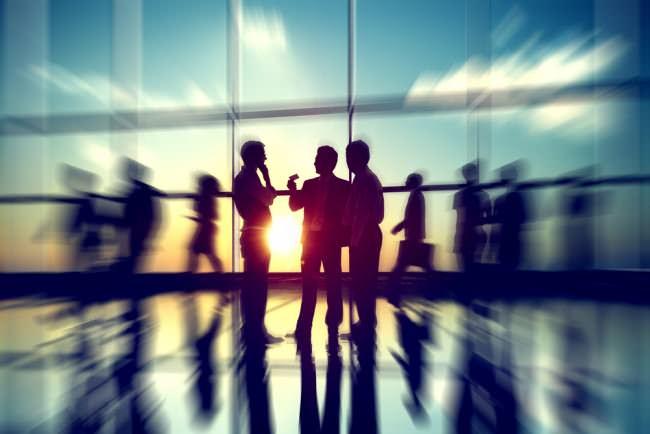 Geschäftskontakte finden knüpfen Netzwerk Business