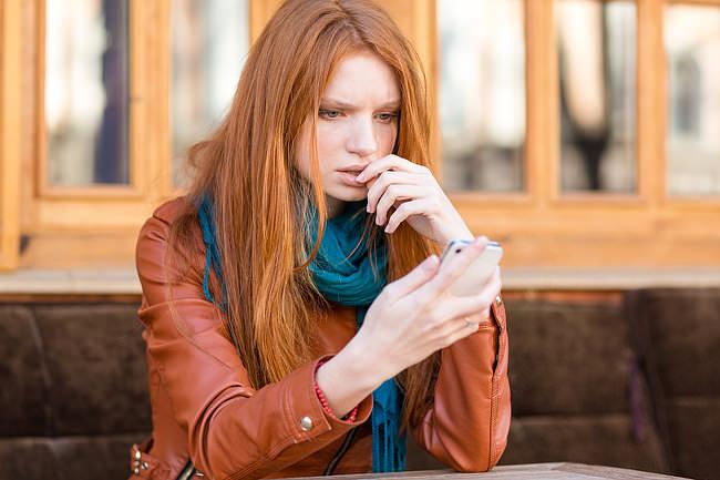 Textnachrichten-Trick-Punkt-SMS
