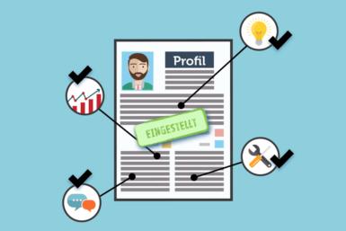 Kurzprofil: Tipps und Muster für Aufbau und Inhalt