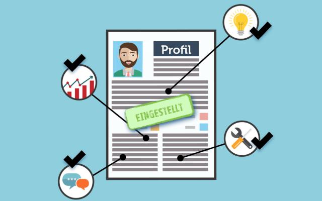 Bewerbung Kurzprofil Aufbau Inhalt Vorteil Qualifikationsprofil