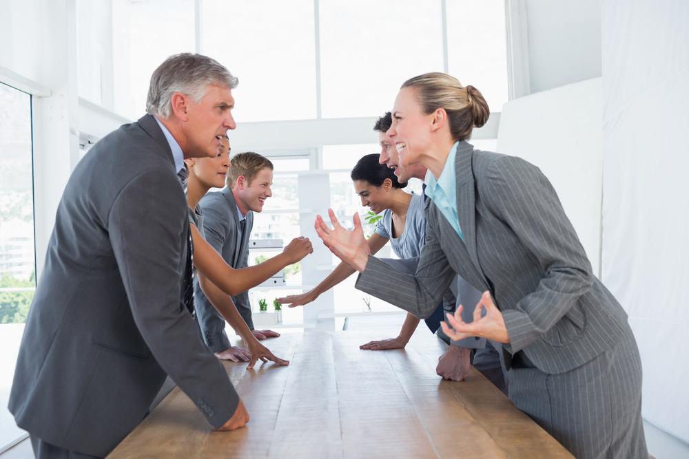Bürokämpfe: Ausweichen oder Gewinnen?