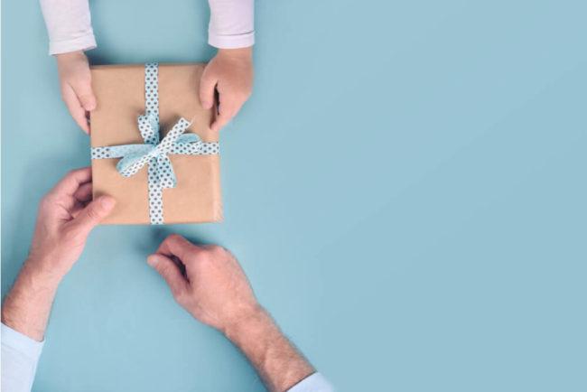 Es stimmt: Geben ist seliger als Nehmen