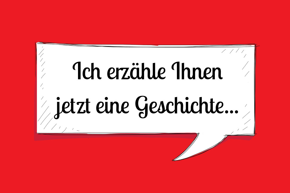 Storytelling Geschichte erzaehlen Definition Methode