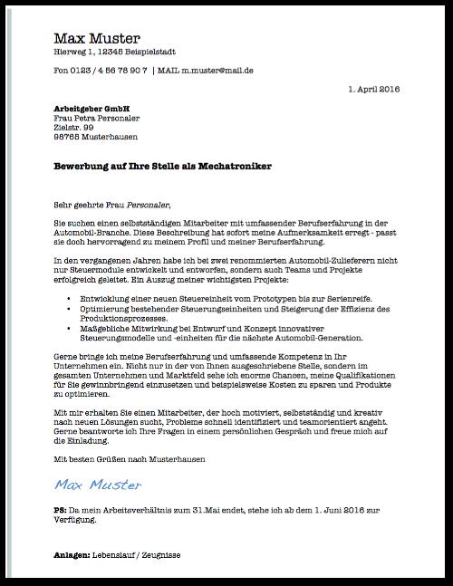 Bewerbung erstellen: Darauf kommt es an | karrierebibel.de
