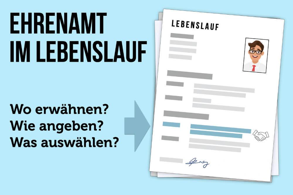 Ehrenamt Im Lebenslauf Tipps Wo Und Wie Angeben