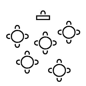 Sitzordnung Tischordnung Meeting Cluster