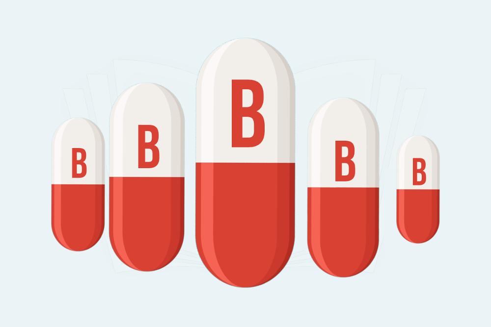 Vitamin B Beziehungen Spruch Pillen Netzwerk