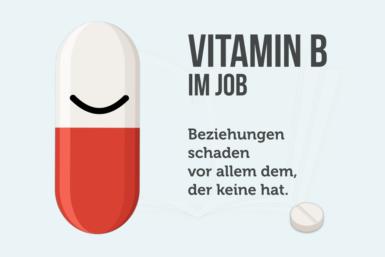 Vitamin B: So wichtig ist es im Job