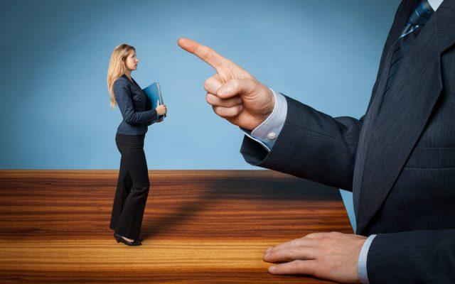 Chef darf nicht fordern verlangen Checkliste