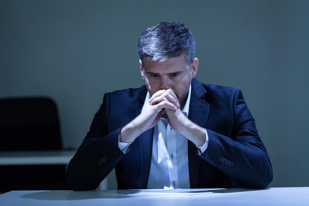 Einsam-Manager-Spitze-Einsamkeit