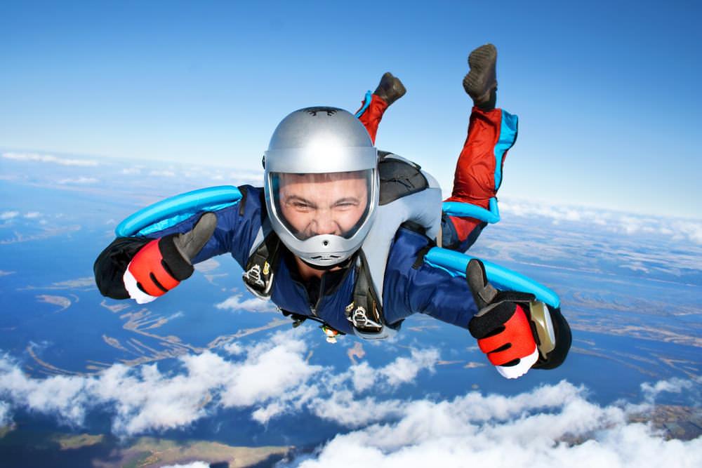 Hobbys im Lebenslauf - Extremsport