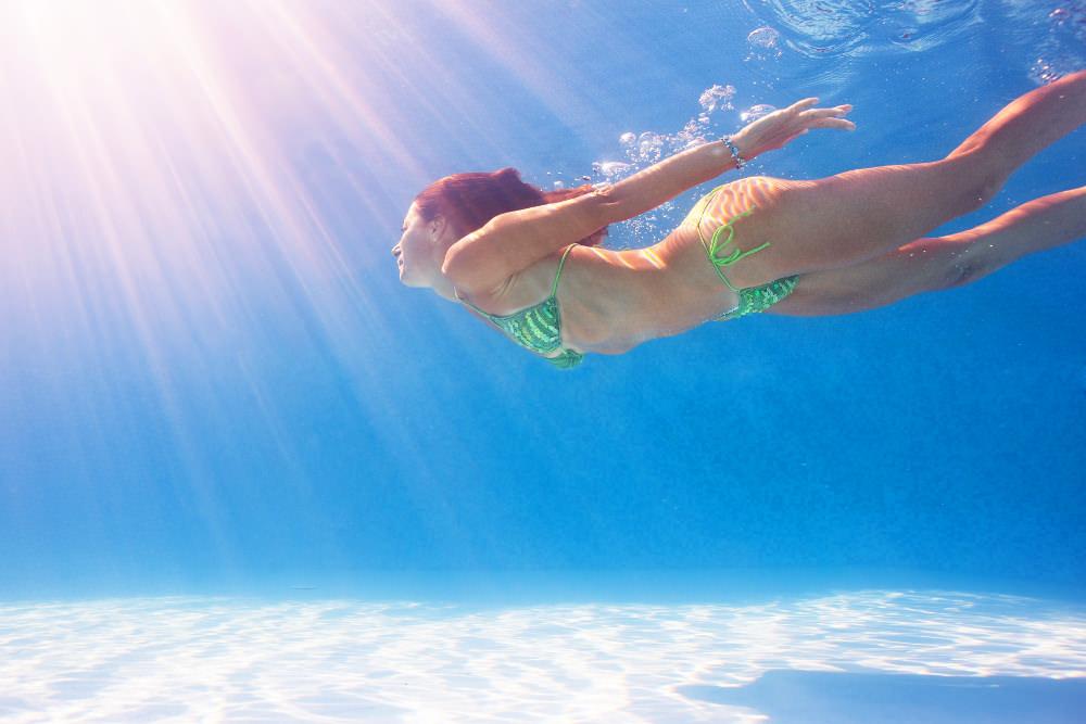 Schwimmen Tauchen