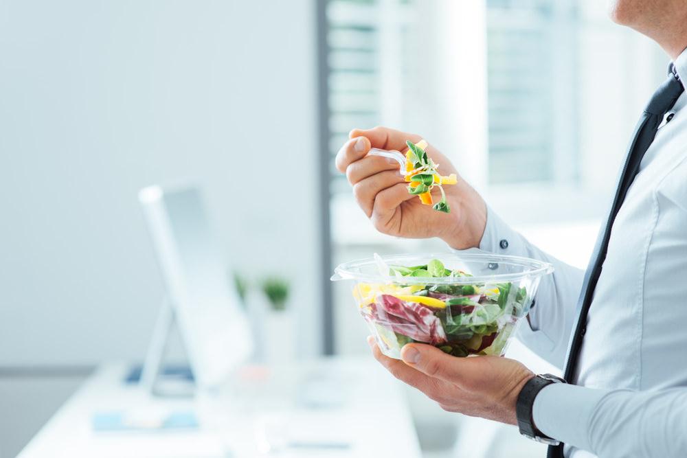 ausgeglichenes Leben Essen