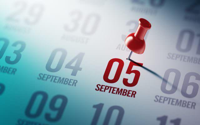 September-Monat-produktiv