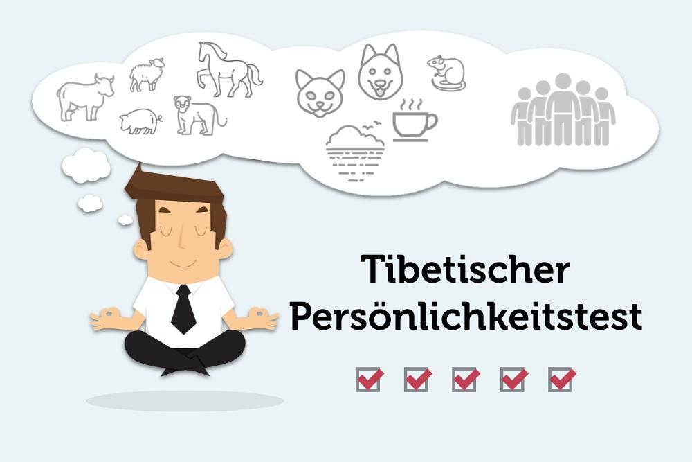 Tibetischer Test Persoenlichkeitstest Charakter Grafik