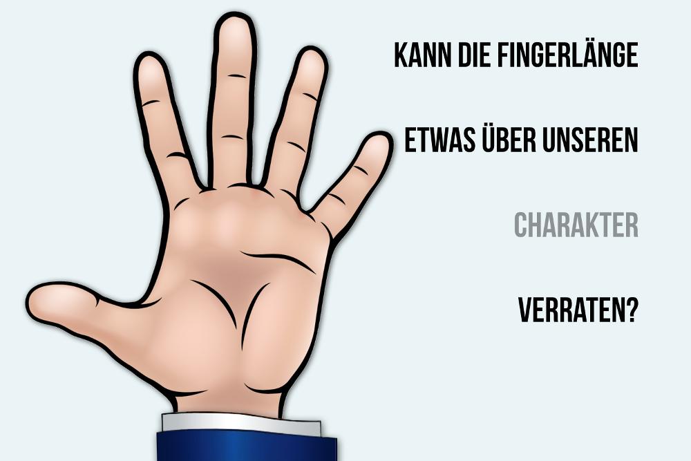Fingerlänge: Was sie über die Persönlichkeit sagt