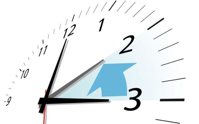 Zeitumstellung Winterzeit Minus eine Stunde Uhr