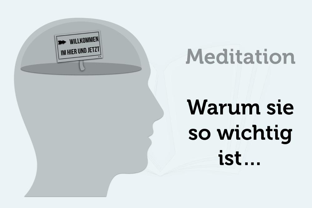 Meditation Ruhe im Hier und Jetzt