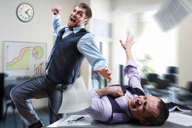 Gewalt am Arbeitsplatz: So schützen Sie sich